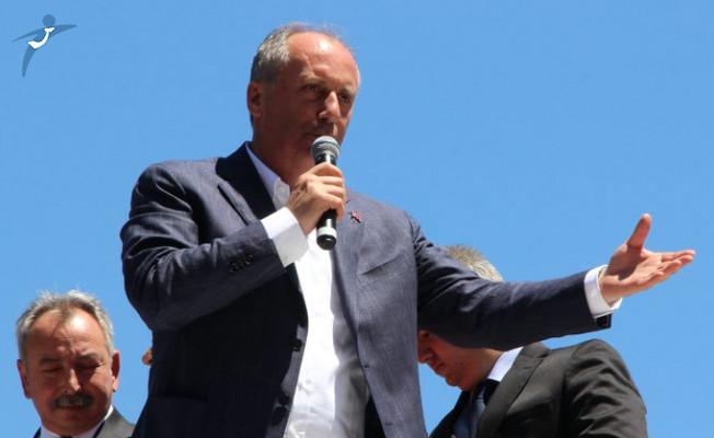 Muharrem İnce'den Cumhurbaşkanı Erdoğan'a: Sen Türk Ordusunun Şerefli Subaylarına Kumpas Kurulurken O Kumpasın Ortağıydın