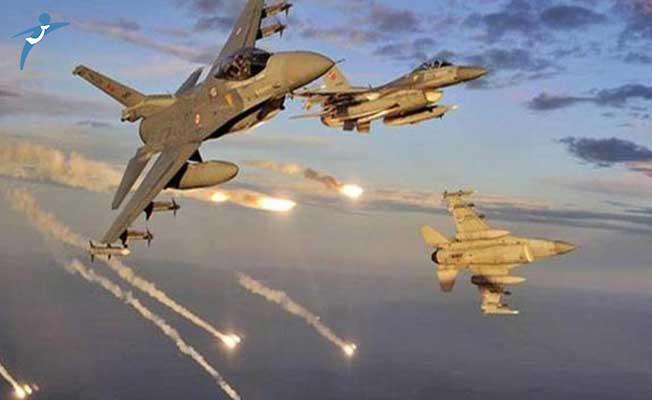 TSK Duyurdu: Kuzey Irak'a Hava Harekatı Düzenlendi