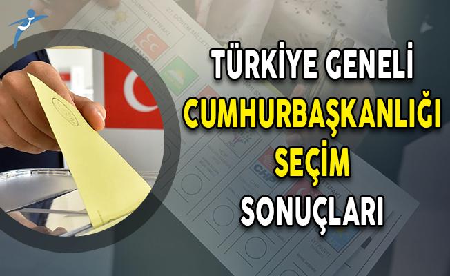 Türkiye Geneli 24 Haziran Cumhurbaşkanlığı Seçim Sonuçları