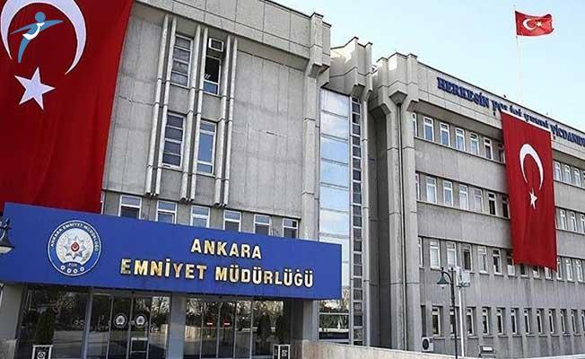 Ankara Emniyet Müdürlüğünde Görev Değişimi Yapıldı