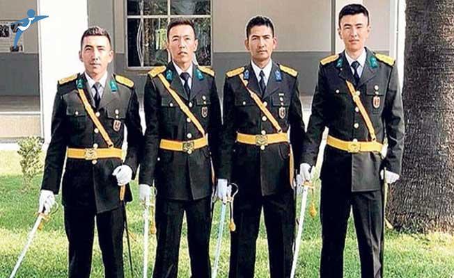 Artık Ulupamir'in İlk Subayları da TSK Bünyesinde