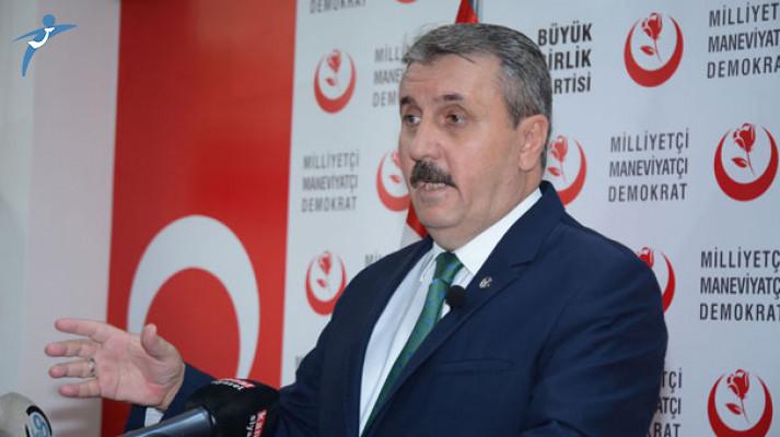 BBP Lideri Mustafa Destici: İdam Cezasının Getirilmesi İçin Meclis'te Yasa Teklifi Vereceğiz