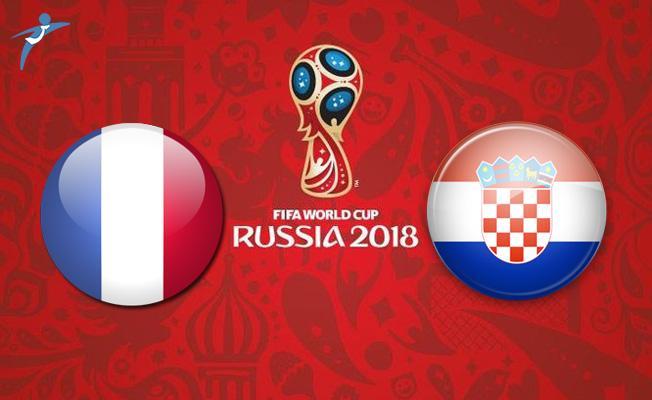 Fransa- Hırvatistan 2018 Dünya Kupası Final Maçı Ne Zaman?