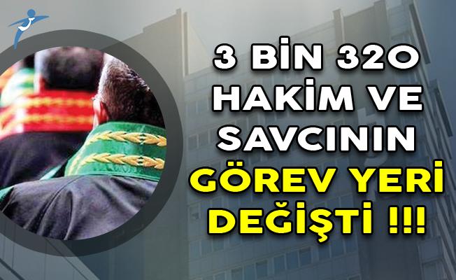 HSK Kararnamesi Yayımlandı! 3 Bin 320 Hakim ve Savcının Görev Yeri Değişti