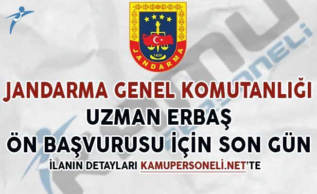 Jandarma Genel Komutanlığı 2375 Uzman Erbaş Başvuruları Sona Eriyor