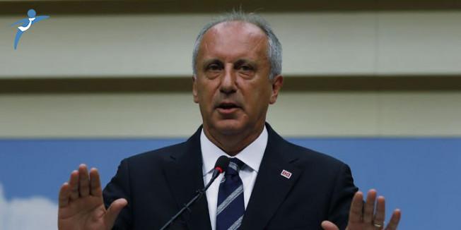 Muharrem İnce'den CHP Karıştı İddialarına Yanıt!