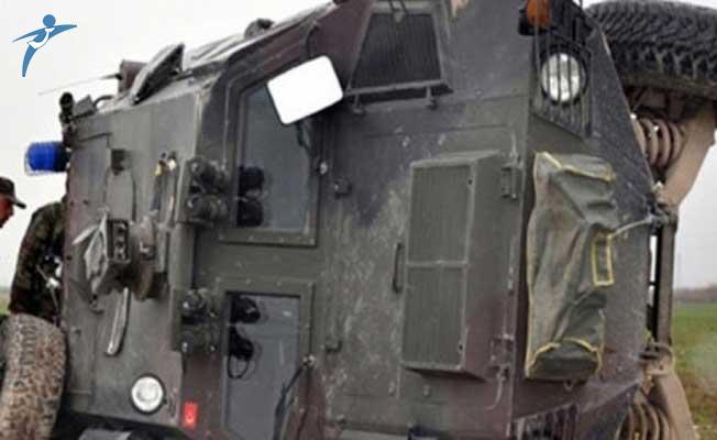 Muş'ta Zırhlı Askeri Araç Devrildi! Yaralı Askerler Var