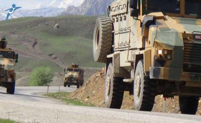 Siirt'te Askeri Araç Şarampole Yuvarlandı! Yaralı Askerler Var