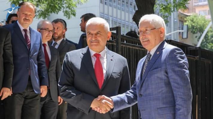 Son Başbakan Yıldırım'dan Yüksek Seçim Kurulu'na Veda Ziyareti