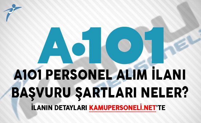A101 Personel Alım İlanı! Başvuru Şartları Neler?