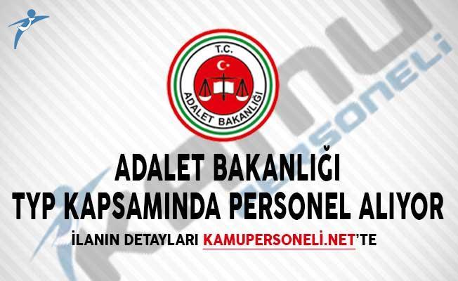 Adalet Bakanlığı TYP Kapsamında Personel Alıyor