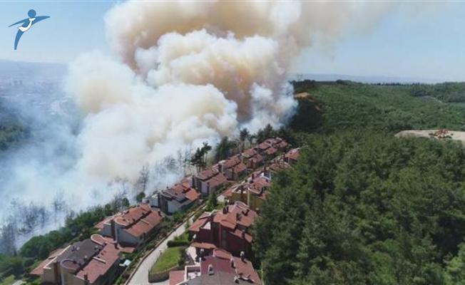 Bursa ve Antalya'da Orman Yangını! Yerleşim Yerleri Tehdit Altında