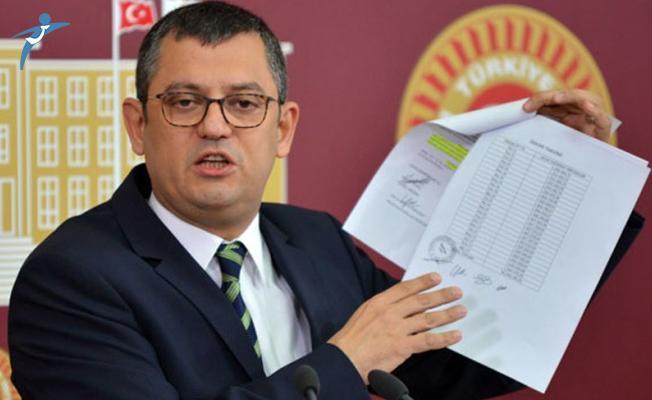 CHP'li Özgür Özel Meclis Başkanı Yıldırım'a Çağrıda Bulundu!