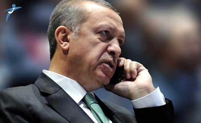 Cumhurbaşkanı Erdoğan İle Kuveyt Emiri Telefonda Görüştü