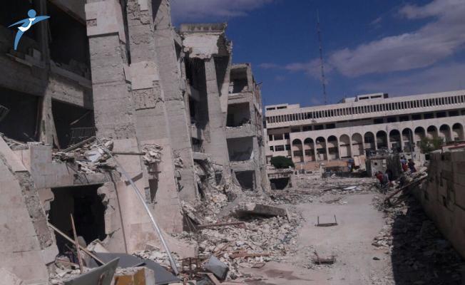 İdlib'de Patlama! 30'dan Fazla Ölü ve Çok Sayıda Yaralı Var!