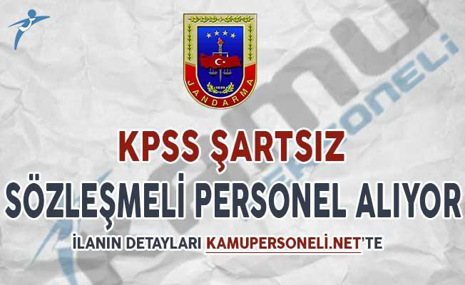 Jandarma Genel Komutanlığı Sözleşmeli Personel Alımı Yapıyor (KPSS Şartsız)
