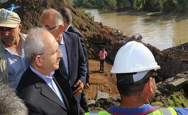 Sel Felaketinin Ardından CHP Lideri Kılıçdaroğlu'ndan Yapılaşma Eleştirisi