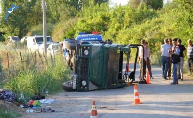 Antalya'da Safari Cipi Kaza Yaptı ! Ölü ve Çok Sayıda Yaralı Var