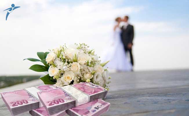 Evlenecek çiftlere kişi başı 7 bin 500 TL'ye varan evlilik desteği sağlanıyor