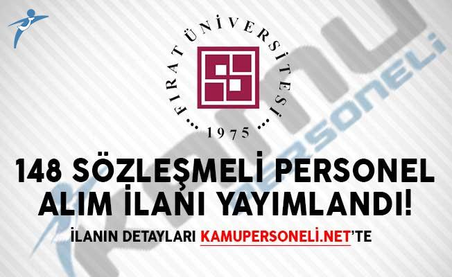 Fırat Üniversitesi 148 Sözleşmeli Personel Alım İlanı Yayımlandı!