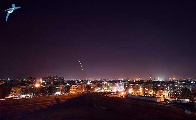 İsrail Savaş Uçaklarının Şam'ı Vurduğu İddia Edildi