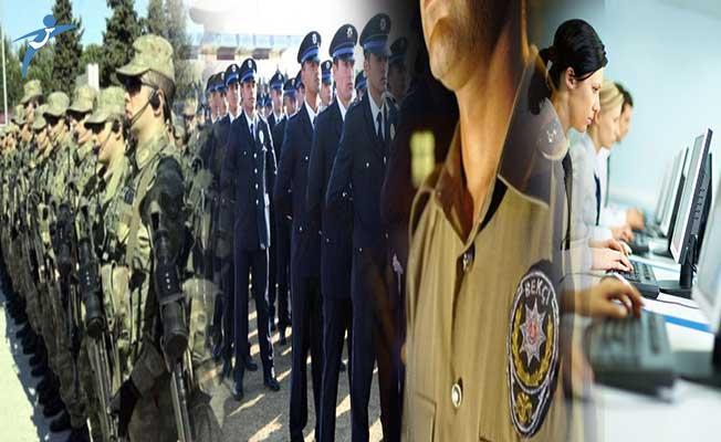 Kamu Kurumlarına 64 Bin 500 Personel Alınacak ! (Polis, Asker, Memur ve Bekçi)