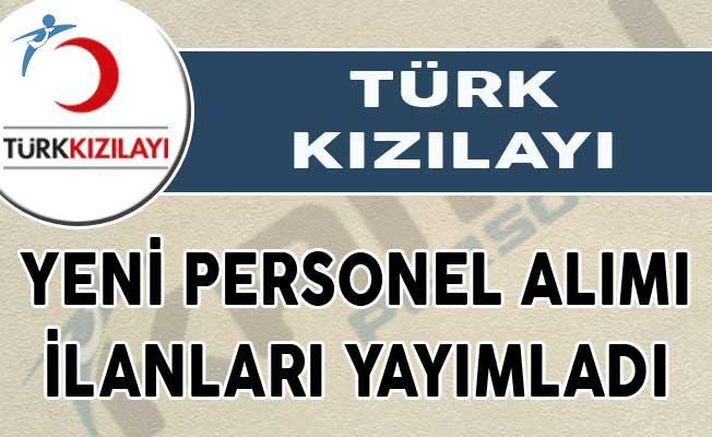 Kızılay yeni personel alımı ilanları yayımladı! Başvurular internet aracılığıyla alınacak