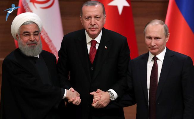 Türkiye-Rusya-İran'dan Kritik Zirve! Cumhurbaşkanı Erdoğan Açıklamalarda Bulundu