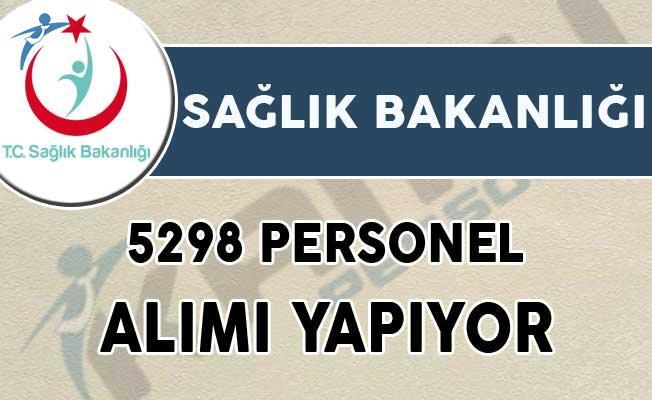 Sağlık Bakanlığı 5298 Personel Alımı Başvuruları Sona Eriyor! (İŞKUR Başvuru Ekranı)