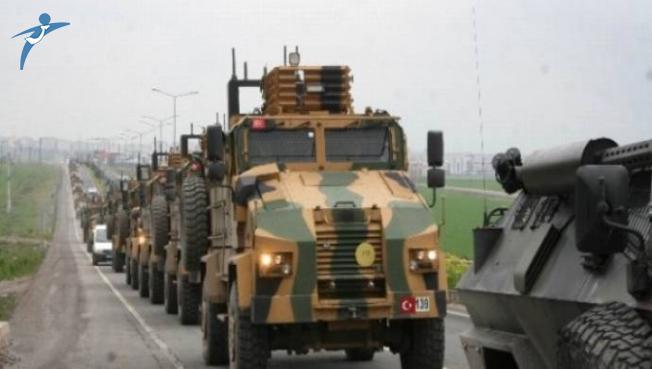 Sınıra Askeri Sevkiyat Devam Ediyor (Obüs, ZPT, Tank ve Komando Birlikleri)