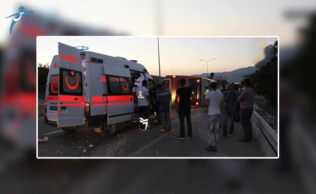 Şırnak'ta Yolcu Otobüsü Faciası ! Çok Sayıda Yaralı Var