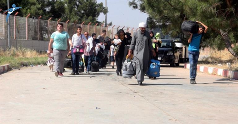 Ülkelerine Giden 15 Bin Suriyeli Türkiye'ye Döndü !