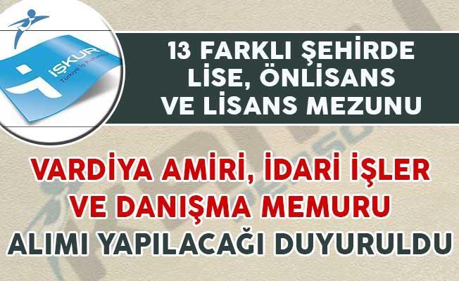107 Vardiya Amiri, İdari İşler ve Danışma Memuru Alım İlanı Yayımlandı