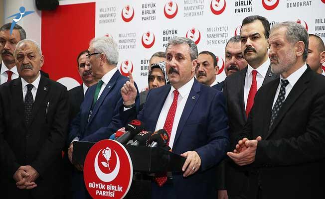 Büyük Birlik Partisi (BBP) Yerel Seçim Kararını Açıkladı