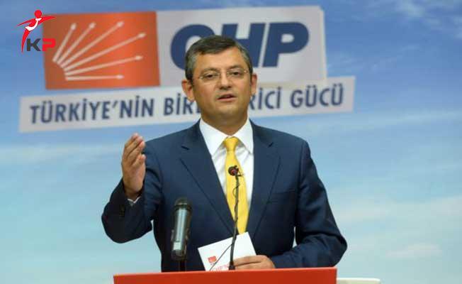 CHP'li Özel: EYT Hakkındaki Kanun Teklifimiz Ortadan Yok Edilmiş Durumda