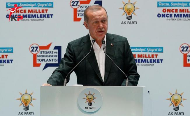 Cumhurbaşkanı Erdoğan: İsmet İnönü'nün Elinde ABD Bayrağı Var