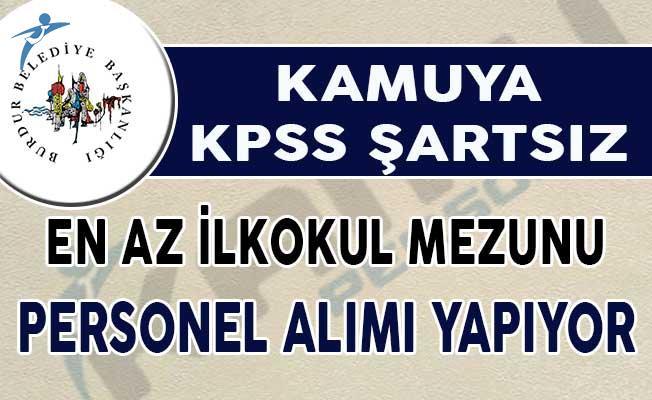 Kamuya KPSS Şartsız 29 Personel Alımı Yapılıyor ( İtfaiye Eri, Güvenlik Görevlisi ve Diğer Pozisyonlar)