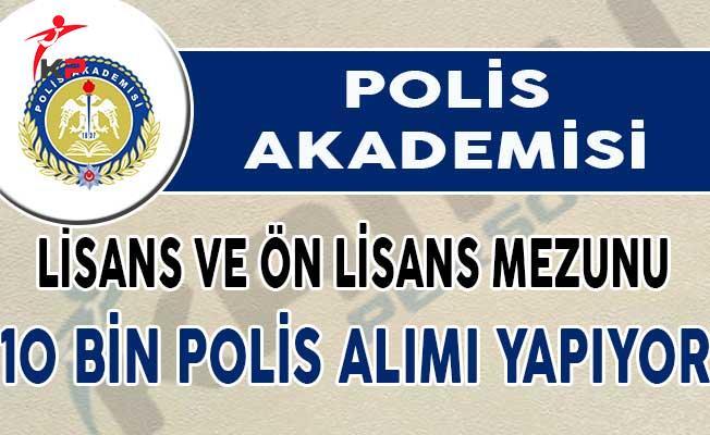 KPSS En Az 60 Puan İle EGM POMEM 10 Bin Polis Alımı Yapılıyor