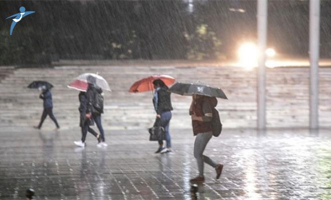 Meteoroloji'den Yurt Genelinde Şiddetli Yağış Uyarısı
