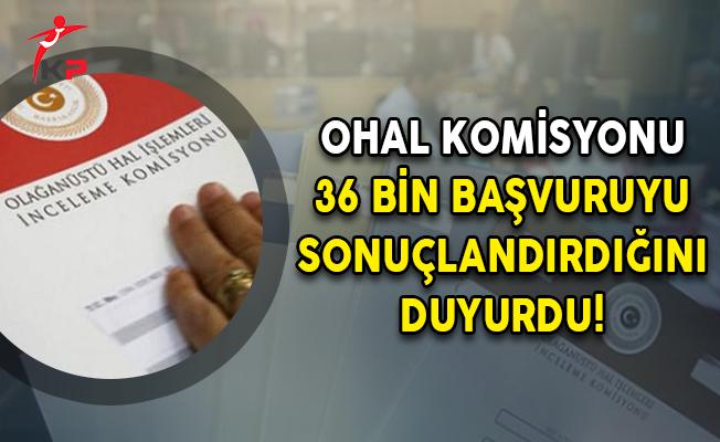 OHAL Komisyonu 36 Bin Başvuruyu Sonuçlandırdığını Duyurdu!