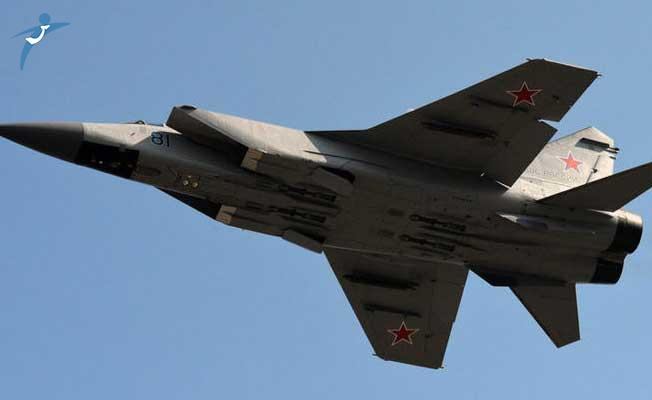Rus Savaş Uçağı Moskova Yakınlarında Düştü!