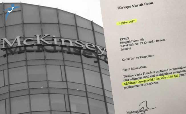 Türkiye'nin McKinsey'le 2017 Yılından Beri Çalıştığı Belirtildi!
