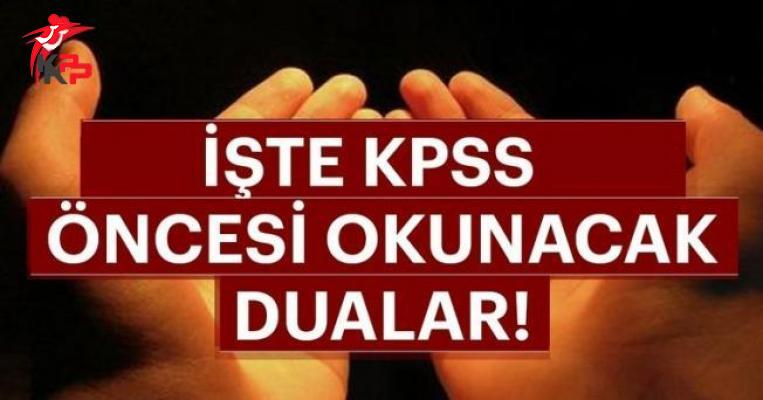 2018 KPSS Duası ve Önlisans KPSS Sınavında Başarı Olma Duası!