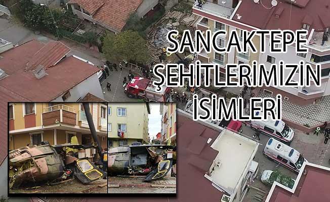 26 Kasım 2018 Sancaktepe Şehitlerimizin İsimleri! Askeri Helikopter Düştü