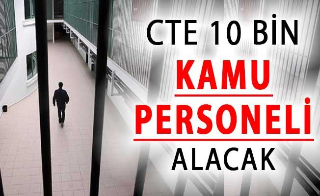 Adalet Bakanlığı CTE 10 Bin Kamu Personeli Alımı Yapacak