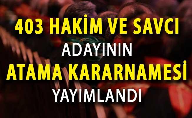 Adalet Bakanlığı Hakimler Savcılar Kurulu (HSK) Atama Kararları Yayımlandı