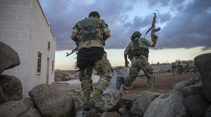 Afrin'de çetelere oprasyon- 50 kişi yakalandı