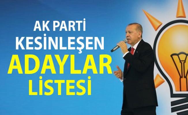Ak Parti Belediye Başkan Adayları Listesi - AKP Kesinleşen Adaylar Tam Liste