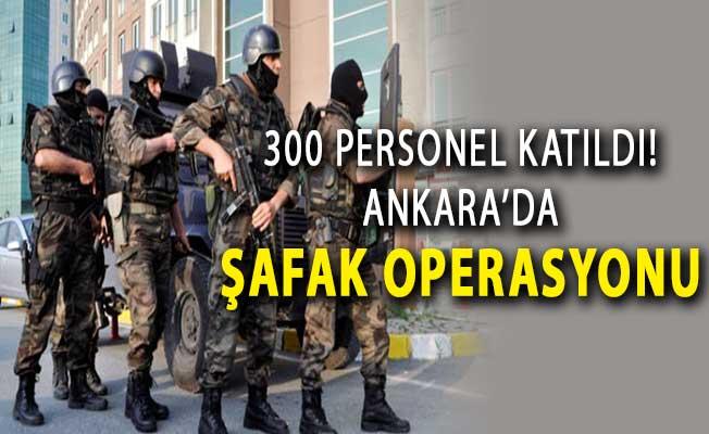 Ankara'da PÖH'lerin de Katıldığı 300 Personelle Operasyon ! Çok Sayıda Gözaltı
