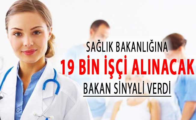 Bakan Koca Sinyali Verdi ! Sağlık Bakanlığı 19 Bin Personel Alımı Bekleniyor